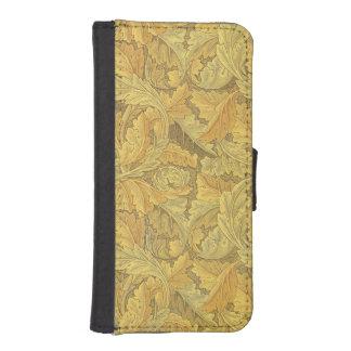 ウィリアム・モリスのAcanthusの壁紙 iPhoneSE/5/5sウォレットケース