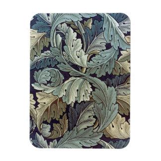 ウィリアム・モリスのAcanthusの花模様の壁紙のデザイン マグネット