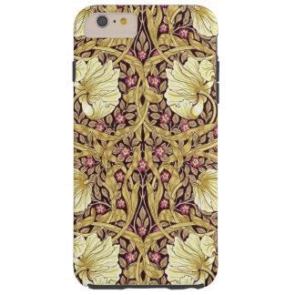 ウィリアム・モリスのPimpernelのヴィンテージの花柄パターン Tough iPhone 6 Plus ケース