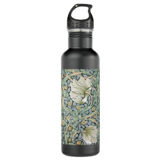 ウィリアム・モリスのPimpernelの花柄 710ml ウォーターボトル