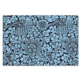 ウィリアム・モリス花パターン鳥の花 薄葉紙