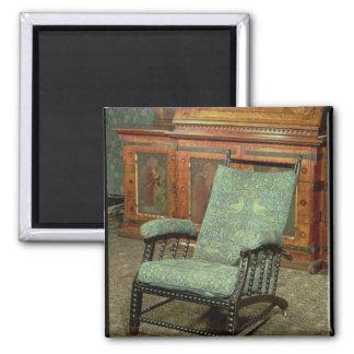 ウィリアム・モリス著椅子 マグネット