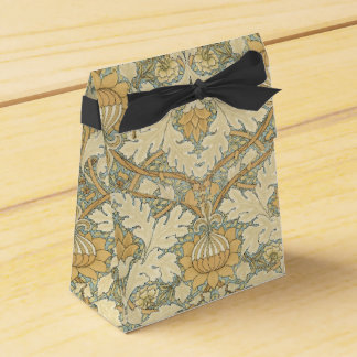 ウィリアム・モリス著花パターン-好意+箱 フェイバーボックス
