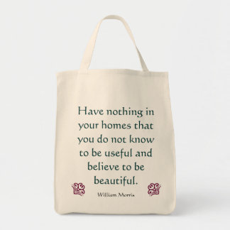 ウィリアム・モリス-芸術及び技術の買い物袋 トートバッグ