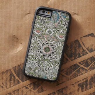 ウィリアム・モリスCorncockleのデザインの花柄のヴィンテージ Tough Xtreme iPhone 6 ケース