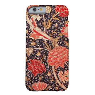 ウィリアム・モリスCrayのヴィンテージの花柄 iPhone 6 ベアリーゼアケース