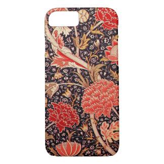 ウィリアム・モリスCrayのヴィンテージの花柄 iPhone 7ケース