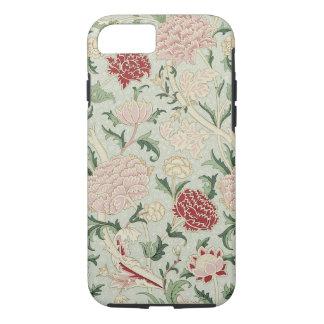 ウィリアム・モリスCrayの花のラファエロ前の画家のヴィンテージ iPhone 8/7ケース