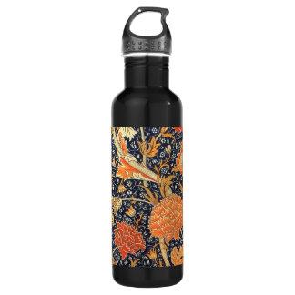 ウィリアム・モリスCray花のアールヌーボーのパターン ウォーターボトル