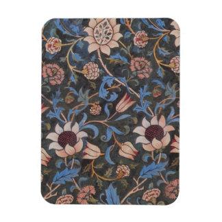 ウィリアム・モリスEvenlodeの織物パターン マグネット