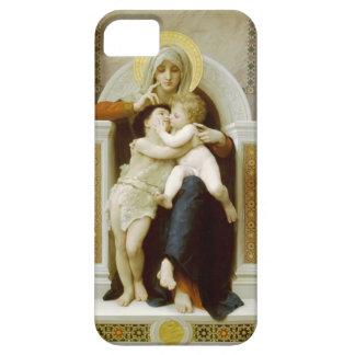 ウィリアムBouguereau-Theヴァージン、イエス・キリスト及び聖ヨハネ iPhone SE/5/5s ケース