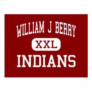 ウィリアムJの果実-インディアン-中間-ハイデルベルク ポストカード