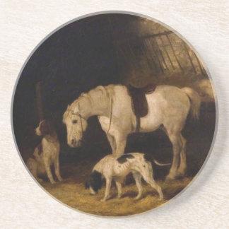 ウィリアムShayer著子馬そして犬 コースター
