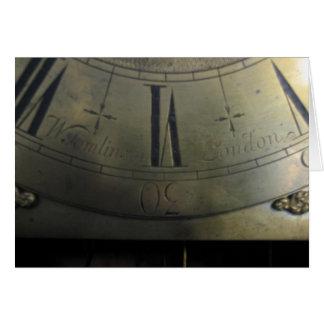ウィリアムTomlinsonの高い例の時計 カード