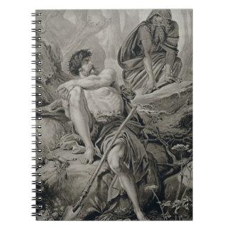 ウィリ著アテネのTimonからのTimonそしてApemantus、 ノートブック