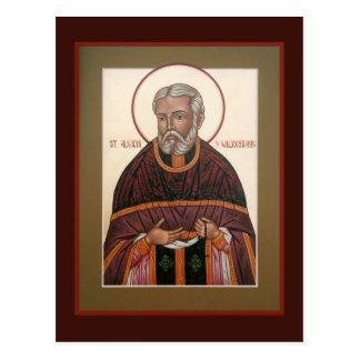 ウィルクスバレの祈りの言葉カードのSt.アレキシス(Toth) ポストカード