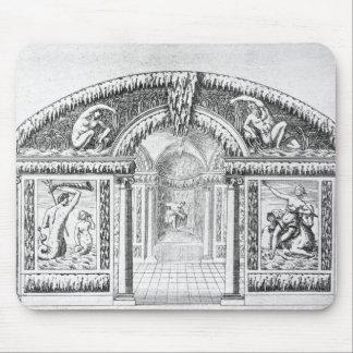 「ウィルトンの庭」からの小洞窟のデザイン、publis マウスパッド