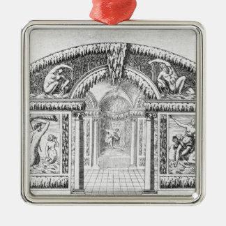 「ウィルトンの庭」からの小洞窟のデザイン、publis メタルオーナメント