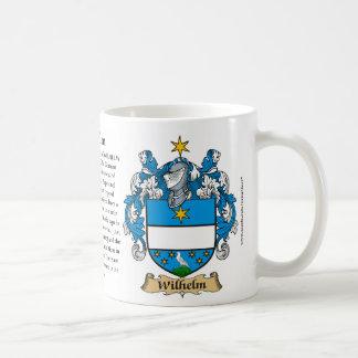 ウィルヘルム、起源、意味および頂上 コーヒーマグカップ