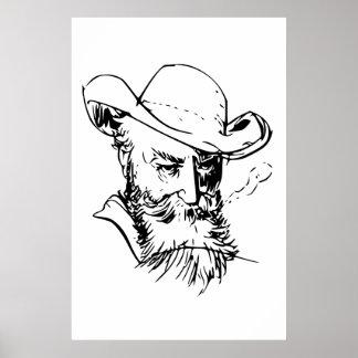 ウィルヘルムBuschの自画像 ポスター