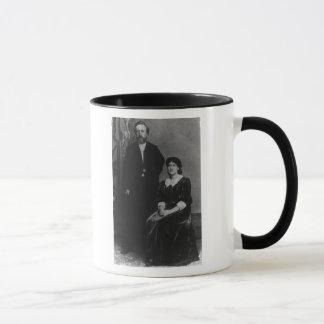 ウィルヘルムLiebknechtおよびエレノアAveling マグカップ