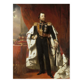 ウィレム王オランダのIII - Pieneman ポストカード