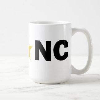 ウィンストンセーレムノースカロライナ- WS * NC コーヒーマグカップ