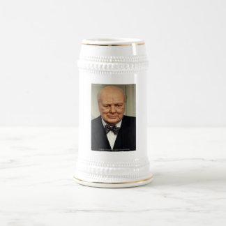 ウィンストン・チャーチルの失敗の知恵の引用文のギフト ビールジョッキ