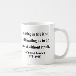 ウィンストン・チャーチルの引用文13a コーヒーマグカップ