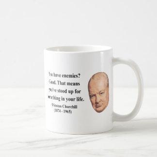 ウィンストン・チャーチルの引用文3b コーヒーマグカップ