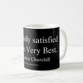 ウィンストン・チャーチルの引用文; まさにベスト コーヒーマグカップ