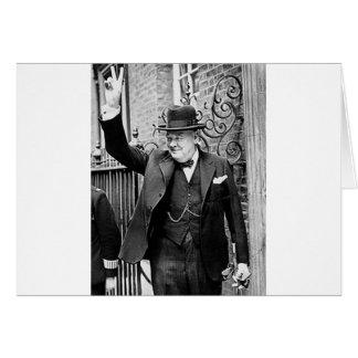 ウィンストン・チャーチル カード