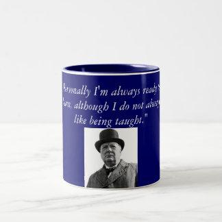 ウィンストン・チャーチル ツートーンマグカップ