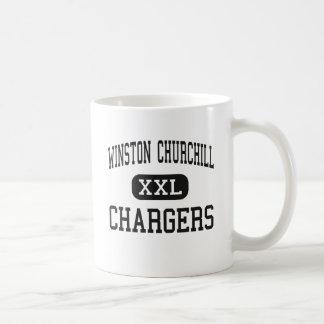 ウィンストン・チャーチル-充電器-高サン・アントニオ コーヒーマグカップ