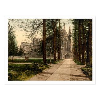 ウィンチェスターのカテドラル、ハンプシャー、イギリス ポストカード