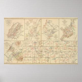ウィンチェスターのヒマラヤスギの操業、港共和国、VA ポスター