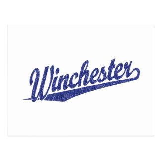 ウィンチェスターの動揺してな青 ポストカード
