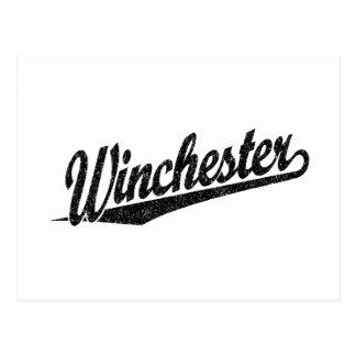 ウィンチェスターの動揺してな黒 ポストカード