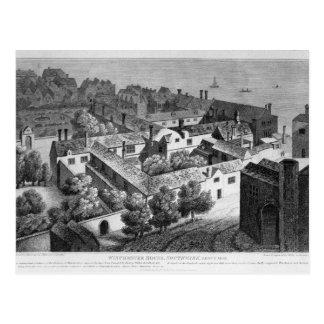 ウィンチェスターの家、約1649年にSouthwark ポストカード