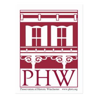 ウィンチェスターの歴史的なロゴの保存 ポストカード