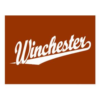 ウィンチェスターの白 ポストカード