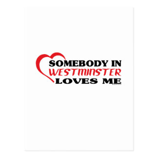 ウィンチェスターの誰かは私を愛します ポストカード