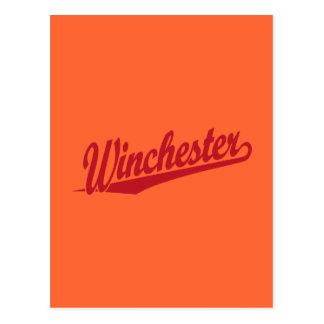ウィンチェスターの赤 ポストカード