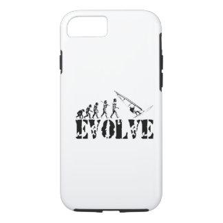 ウィンドサーフィンをすることは芸術進化のスポーツのウィンドサーフィンをします iPhone 8/7ケース