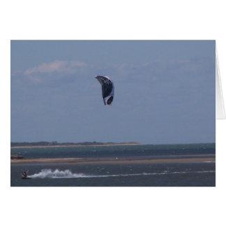 ウィンドサーフィンをすること カード