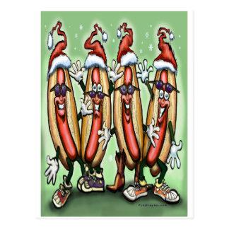 ウィーナーのクリスマス ポストカード