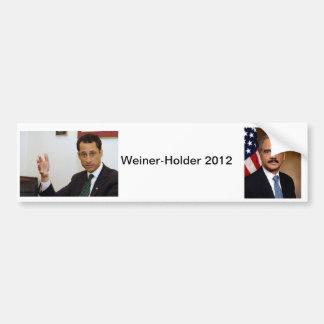 ウィーナーホールダー2012年 バンパーステッカー