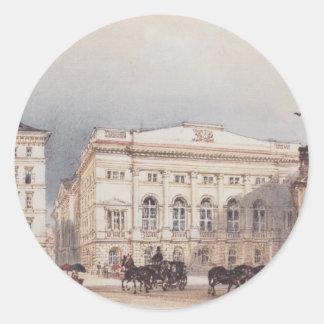 -ウィーンのオーストリアの邸宅を下げて下さい ラウンドシール