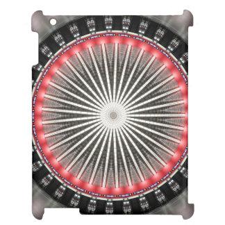 ウィーンの万華鏡のように千変万化するパターンの曼荼羅: HBFパターン iPadケース