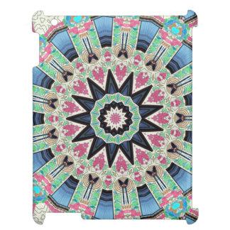 ウィーンの万華鏡のように千変万化するパターンの花の曼荼羅: エド。 220.9 iPadケース